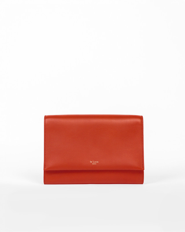 Court Carré - Coral Red